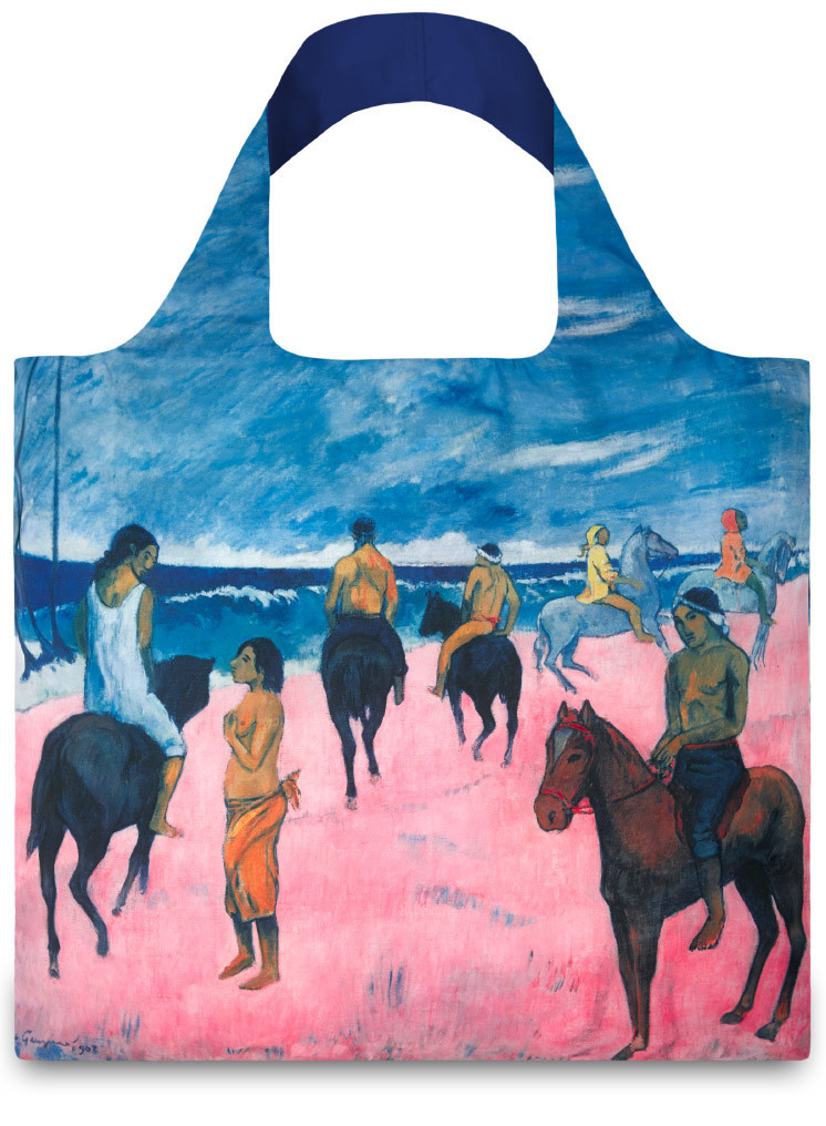 LOQI Paul Gauguin Horseman on the Beach Shopper