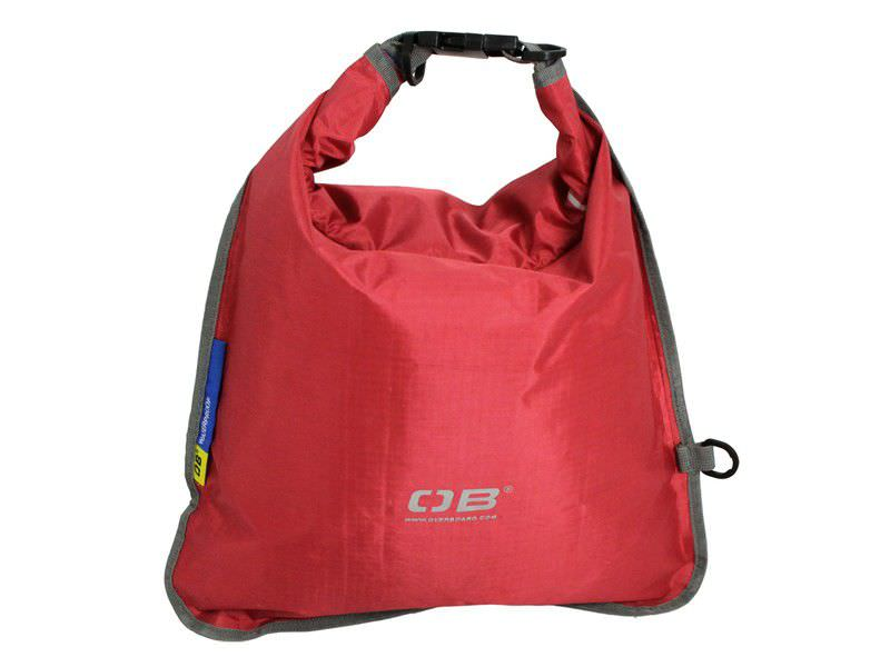 Overboard Waterdichte Tas Dry Flats 15 Ltr Rood